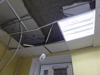 Обследование конструкций подвесного потолка Армстронг